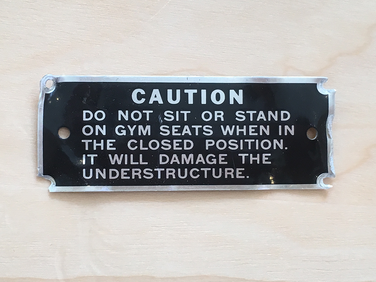 Gym Seat